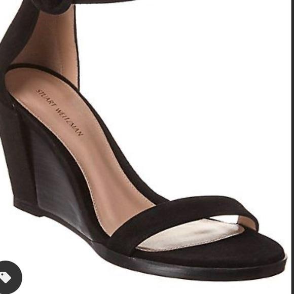 Never worn Stuart Weitzman Harbor wedge sandals
